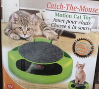 Cat MouseToy Catch The Motion Mouse Cat Sport Toy Pet Toy Good Quality As Seen On Tv  Free Shipping