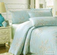 4PC/6PC Egyptian cotton bedding set king size 4pc reactive printing bed set  duvet cover tribute silk cotton bedclothes
