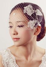 Bridal veil hair accessory brief marriage accessories wedding accessories the bride accessories