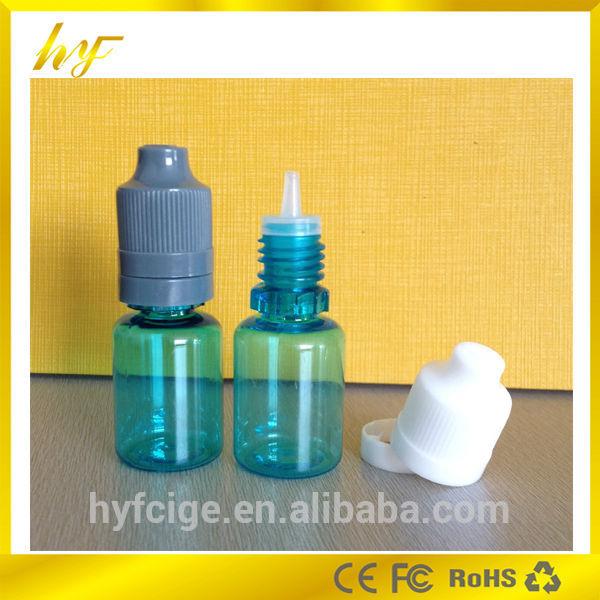 10ml pet cobalt blue e liquid empty bottle with tamper