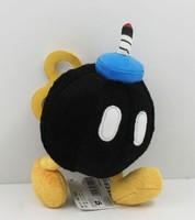 Free Shipping 14cm Mario series ,Running mines  Mario plush toys children gift