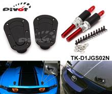 Flush locking aero style bonnet hood pins JDM D1 TK-D1JGS02N(China (Mainland))