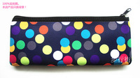 FACTORY DIRECT SELL Customize High quality  free shipping 100% Neoprene Pencil OR cosmetic Bag ORDER ACCEPTED NEO-667
