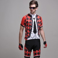 Personalized 2014 ride clothing breathable quick-drying cycling jersey bib shorts short-sleeve bicycle set