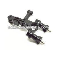 Free shipping(via DHL/Fedex) 100pcs/lot wholesale gopro Bicycle Handlebar with three Way Adjustable Pivot Arm, high quantityGP02