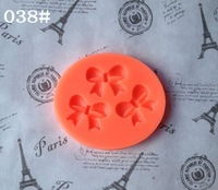 Food Grade Small Bow Tie Silicone mold cake mold silicone baking tools kitchen accessories decorations Fondant DIY 038