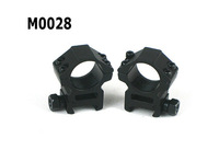 "2pcs/lot 25mm 1 Inch 1"" Ring Weaver Scope Torch Rail Mount 20mm Picatinny for Flashlight rifle scope"