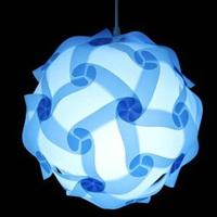 Beautiful IQ Light Jigsaw Lamp Puzzle Lampe,size 25cm/30cm/40cm YSLIQRS free shipping
