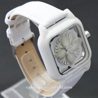 2014 fashion ceramic ladies wrist watch alibaba express made in china japan movt quartz and genuine leather bracelet