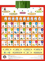 children by 3-12 years old & non-Arabic learners.Digit 1-10,Alphab,Word,Duaa & Quran ARABIC PHABET CHART