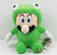Free Shipping 20cm  plush frog Louis doll  Mario plush toys 5peices/lot