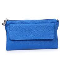 Lady Bag Handbag Tote Shoulder Crossbody PU Blue Fashion