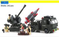 Enlighten Building Blocks Missile Launcher Combat Zones Educational Construction Bricks Toys for Children Compatible