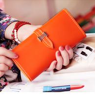 women handbags,womens long PU leather H hasp 2 fold coin change purse wallet!women's card holder IDcredit card holder wallet
