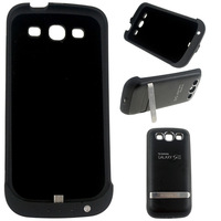 3200mAh Backup Battery Charger Power Flip Stand Case For Samsung Galaxy S3 I9300