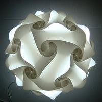 DIY Modern Pendant Ball novel iq lamp puzzle pendants white color pendant lights,size 25cm/30cm/40cm YSLIQW free shipping