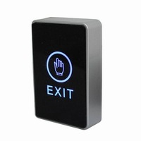 Free shipping Access Control Door Open Smart Touch Exit Button