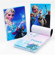 Free Shipping, Frozen Design Kids Cartoon Colorful Notebook- (7*10cm) 48 Sheets , Kids Bes Gift