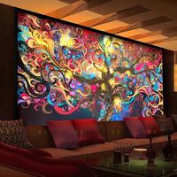 New Continental Hotel KTV large mural bar cafe salons 3d 3d wallpaper mural cash cow