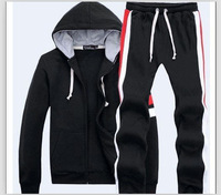 2014 New Brand Sportswear A Set  Men's sets polo Hoodies & Sweatshirts + Sweat pants/Hooded Outerwear sports pants #234