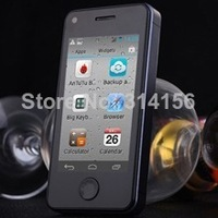 "2PCS/Lot phonebaby i5s 2.45"" IPS Pocket phone i5s mini MTK6572 Dual Core andriod 4.2 256MB//256MB 5MP Dual sim mini s5"