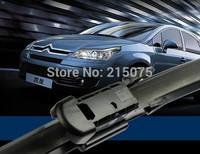 "Auto accessories c Soft Rubber WindShield car Wiper blade blades 2pcs/PAIR 28"" 24""  for citroen C4 C-Triomphe  top quality"