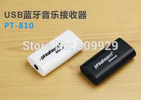 50pcs/lots New USB Speaker Stereo Music Audio Bluetooth music Receiver Wireless Mini Speakers  Adapter Black /white