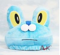 Free Shipping 15cm plush toy  Poliwhirl  hats  children plush toys gift