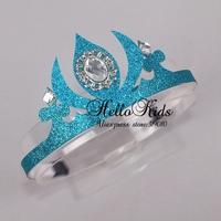Wholesale 2014 Frozen Elsa Crown Custom Made Movie Cosplay Girl Princess Crowns Headwear for Children GD40624-1