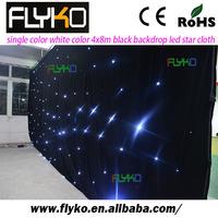 White color 30x5m led star backdrop