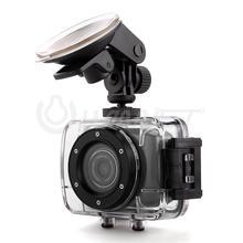 Black Mini Waterproof HD 720P Sports DV Digital Video Camera Camcorder DVR