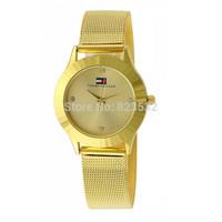 NEW fashion Lover luxury golden diamond dress brand watch women casual quartz Bracelet men stainless steel rhinestone wristwatch