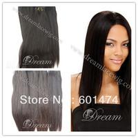 100% MALAYSILIAN virgin remy hair weft straight NTR 12~26 FREE SHIPPING