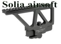 Quick Detach AK Railed Scope Mount Picatinny Side Rail Mounting for AK-47, AK-74