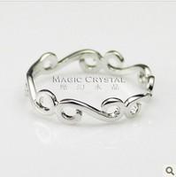 18k gold / Italina Regent jewelry / minimalist fashion index finger ring wholesale / female gift / free shipping