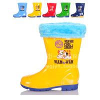 Insole 19cm-36 solid color platform boots rainboots water shoes