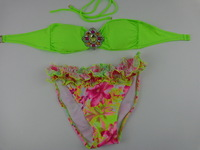 New explosion models sexy women bikini Crystal Diamond Bra Bikini Swimwear free shipping DST-263