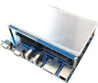 LPC4357 Development board with 7inch LCD network highspeed usb usbhost cortex-m4/cortex-m0 dual-core processor