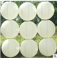 hot sale 12pcs 30cm(12inches) Chinese round paper lantern wedding lantern festival decoration