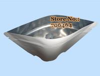 Free shipping 200g valve Tin-tie white karaft laminate matte+aluminum foil+PE coffee bean bag self-stand top zipper packing bag