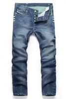 Free Shipping 2014/6/24 New Arrival Fashion Brand Famous Men's Jeans Denim Straight Jeans Men Size 28-40#GC5816