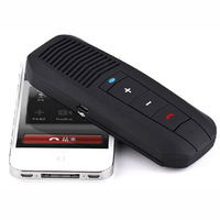 New Car Kit Visor Wireless Bluetooth Handsfree Speakerphone Speaker Tonsee