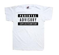 Parental Advisory Shirt Explicit Content Shirt Tee More Colors T shirt Mens Womens