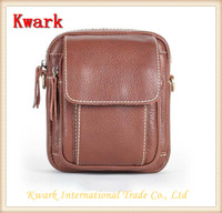 2014European Male Genuine Leather Cowhide Waist Packs Men Cell Phone Small Messenger Bag Outdoor Multi-function Long Belt Pocket