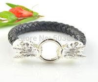5 Pieces Tops 2014! Fashion Men's Bracelets Mix Color Dragon Buckle Multiple Choice Bracelet Free Shipping b5