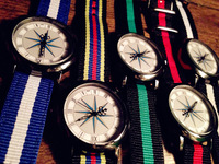 2014 Korea Style Weave Ribbon Bracelets Watch Women Colorful Fashion Wrist Watch Free shipping Drop Shipping