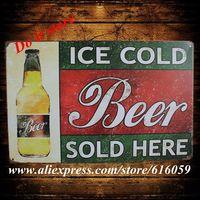 [ Do it ] Tin sign Wholesale  Vintage Bar Metal Home Cafe Decor 20*30 CM B-188