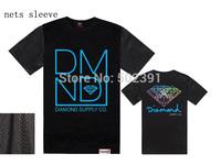 New 2014 mens hip hop DIAMOND t shirt, new style Diamond supply mens nets sleeve  t-shirts free shipping