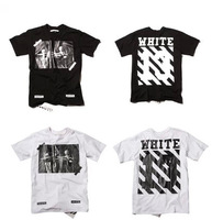 2014 new fashion streetwear hip hop tee for men pyrex t shirt off white t-shirt skateboard swag large size s- XXXL