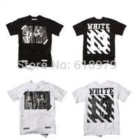 2014 new fashion streetwear hip hop tee for men pyrex t shirt off white t-shirt skateboard swag large size s- XXXL
